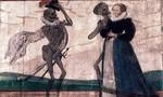 Detailfoto, der Tod und die Jungfrau, Klick zum Vergrößern